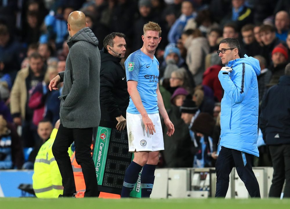 De Bruyne Closing On City Return