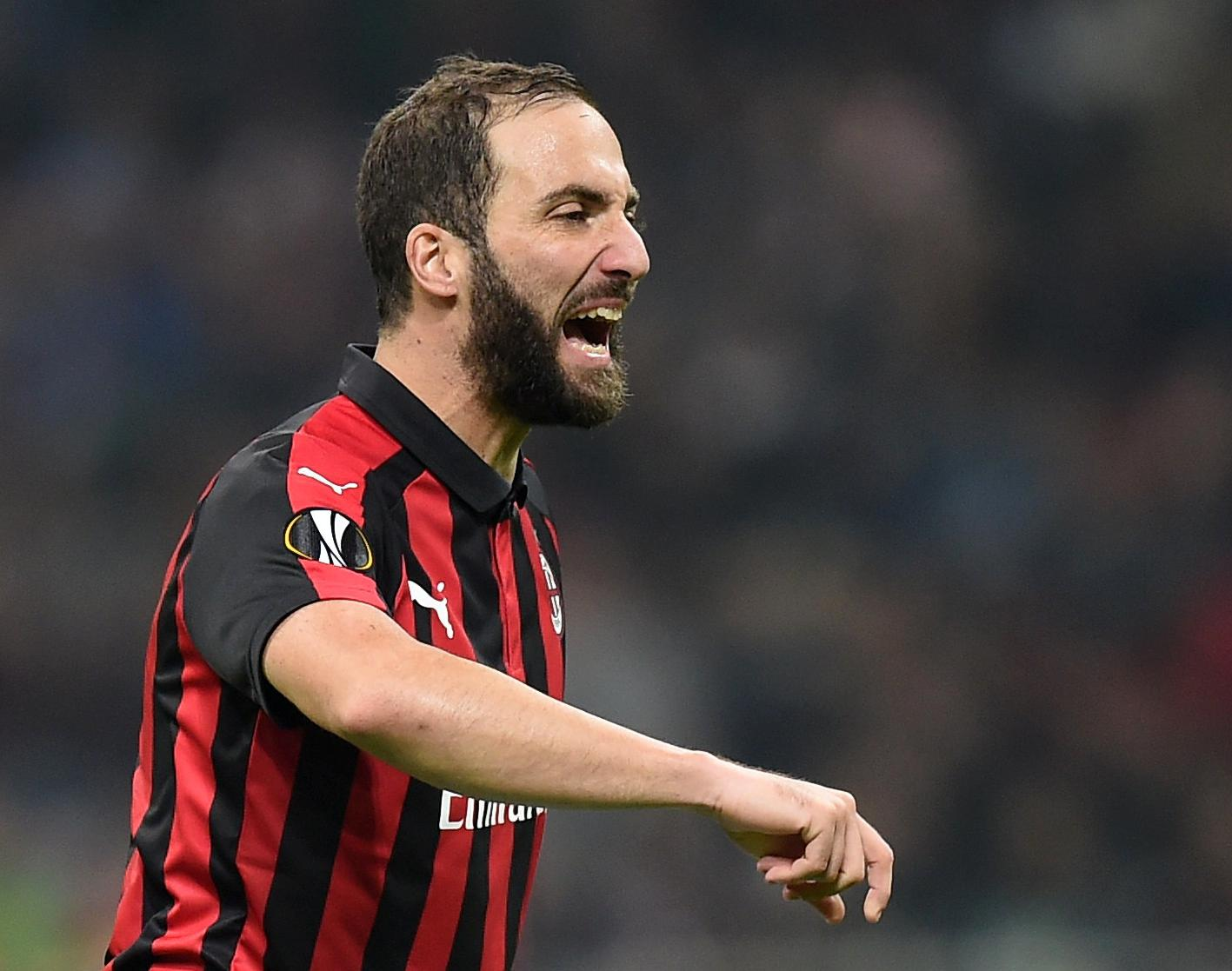 Higuain Milan Rumours Rejected