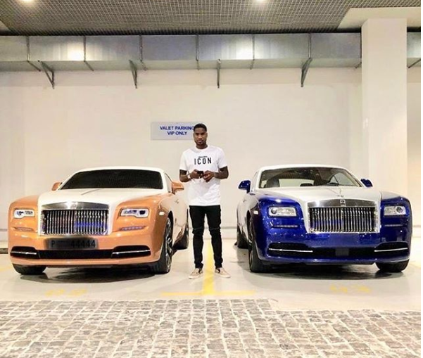 Ideye Dedicates 2018 Rolls Royce To God
