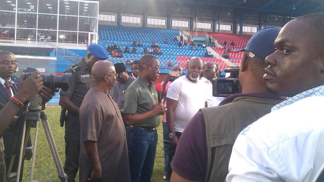 Delta Governor Okowa Promises Super Eagles $25,000-A- Goal  Vs Bafana