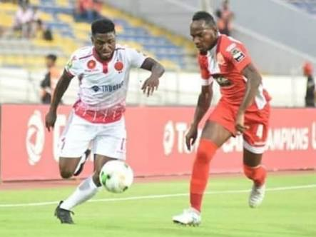 Babatunde Revels in 1st Wydad Casablanca Goal