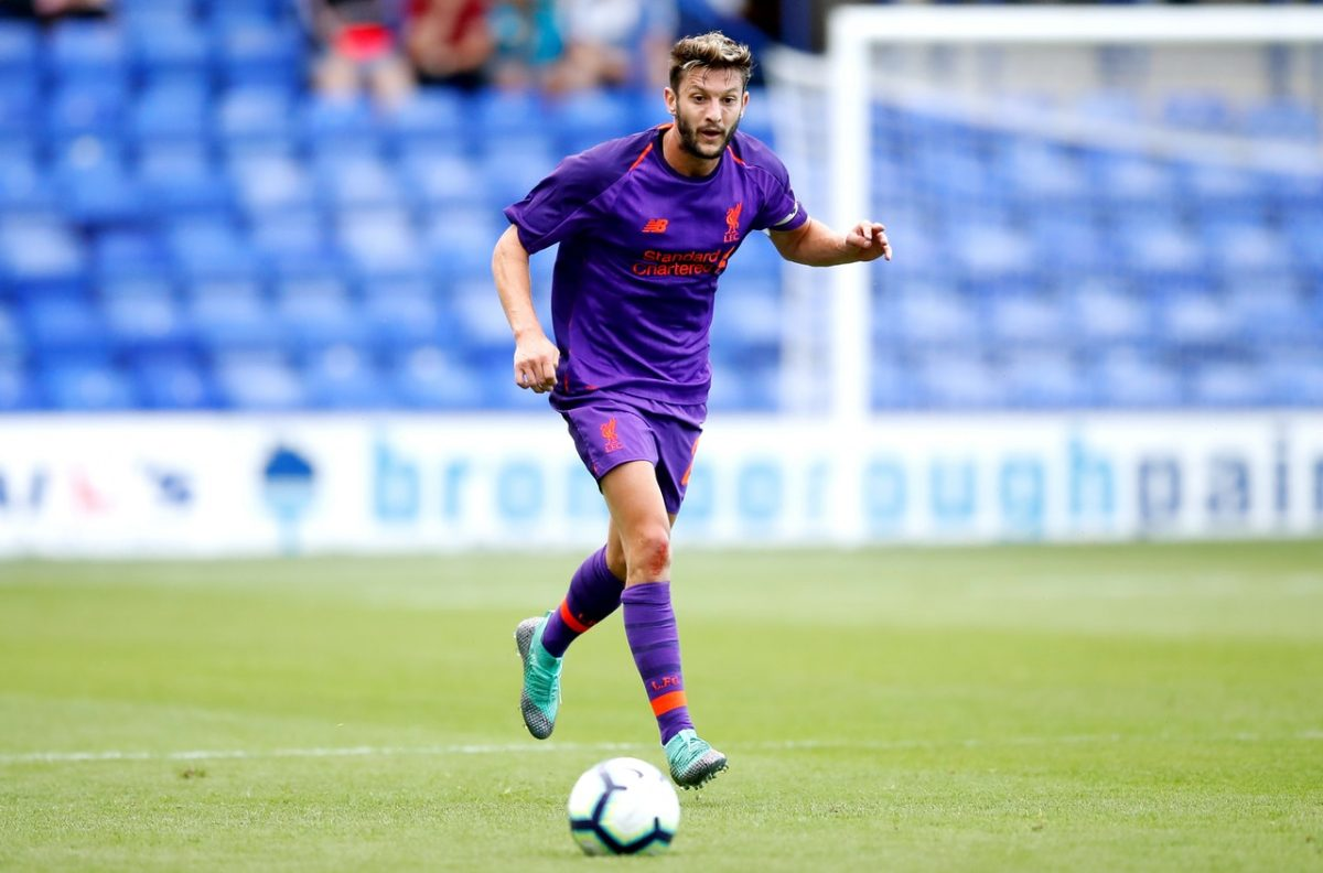 Lallana Out But Skipper Fit For Reds