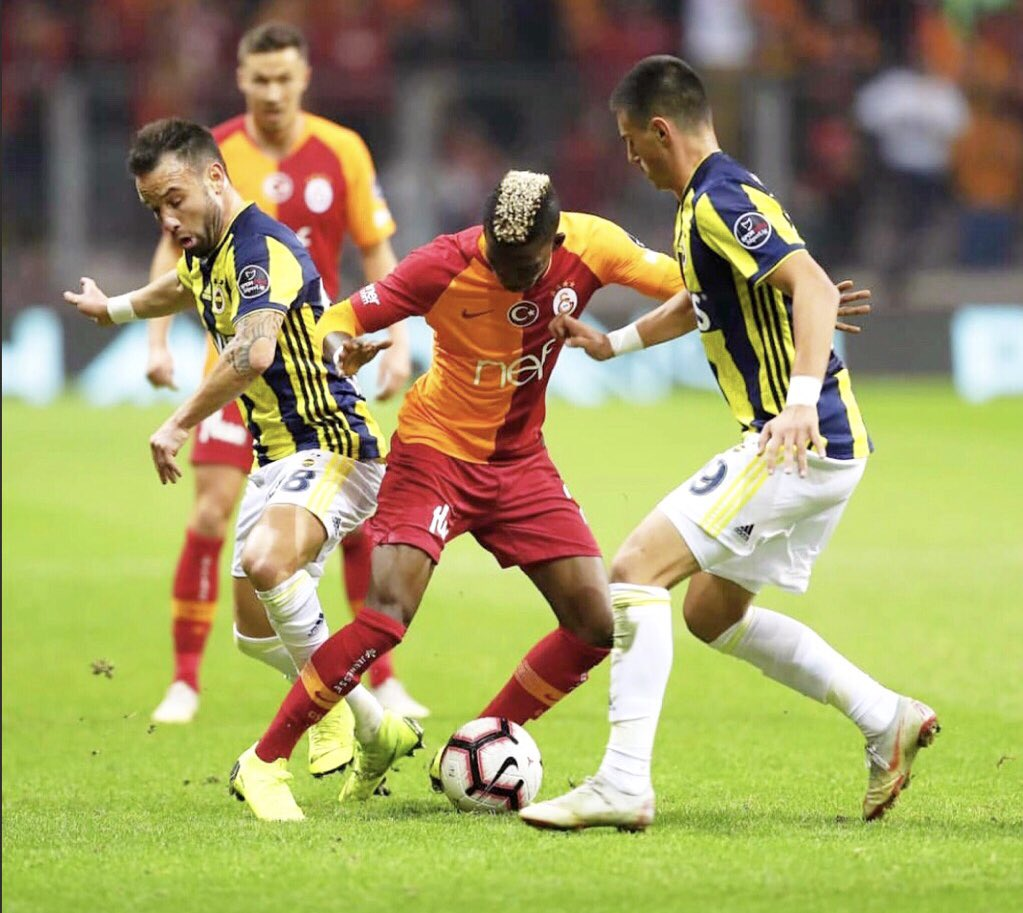 Onyekuru Thrilled By Galatasaray's Fans Support; Vows Team Will Make Amends After Draw