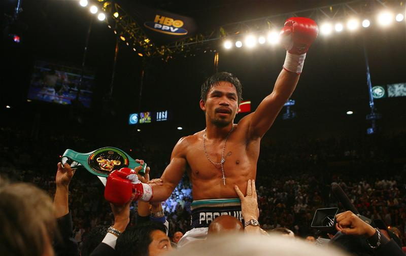 Pacquiao Confirms Mayweather Talks