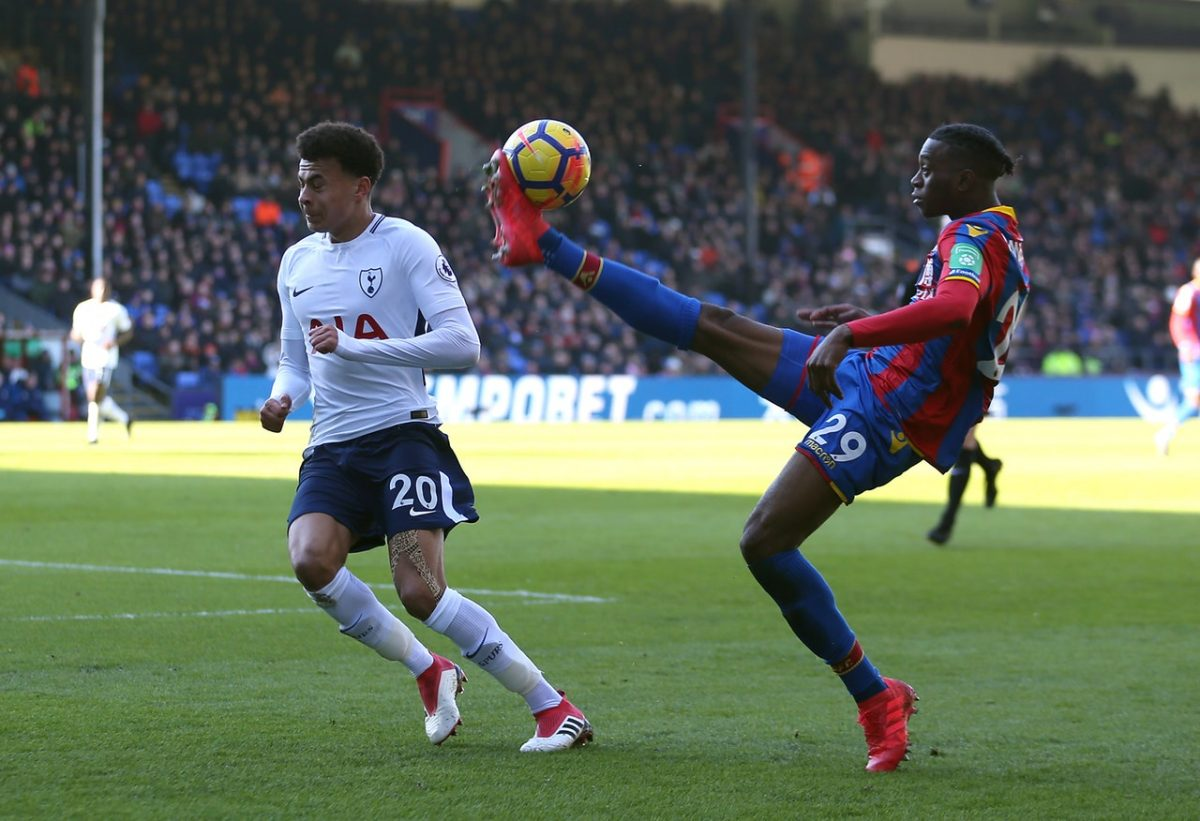 Palace Sweating On Wan-Bissaka
