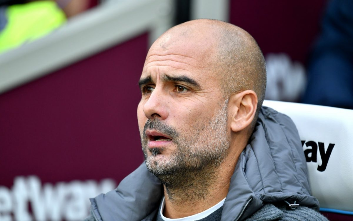Pep Relieved As City Progress