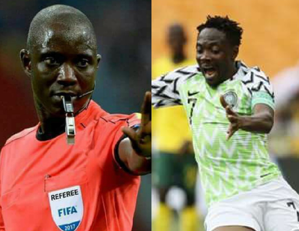 Musa Accepts Ref Gassama's Apology For Disallowed Goals Vs Bafana