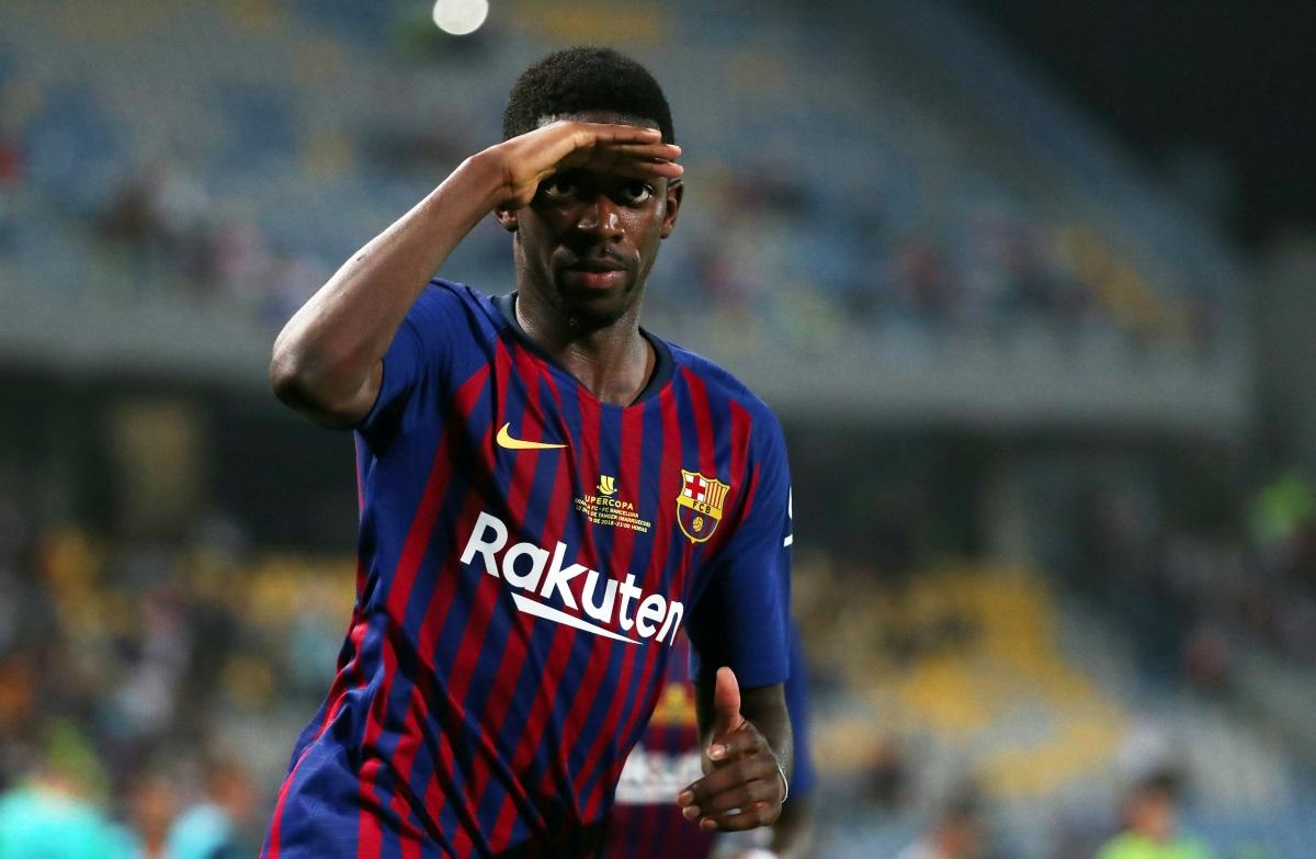 Pique Urges Dembele To Sort Himself Out