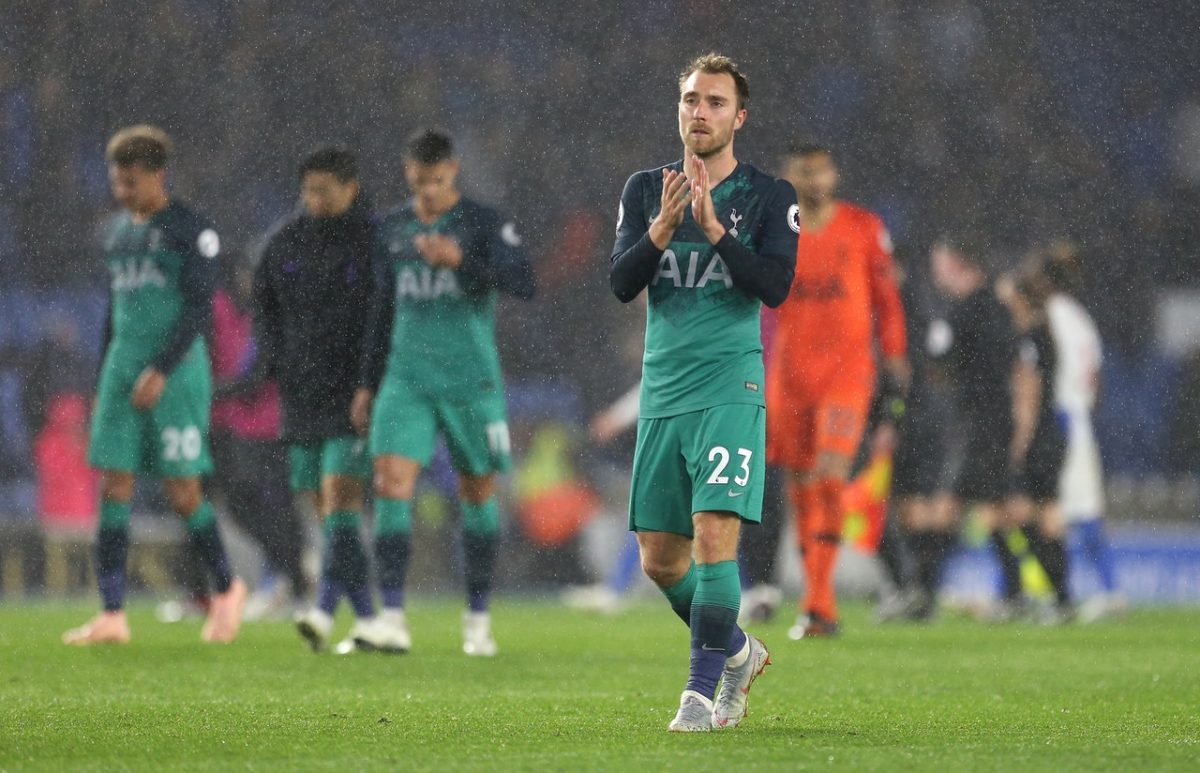 PSG Enter Race For Eriksen