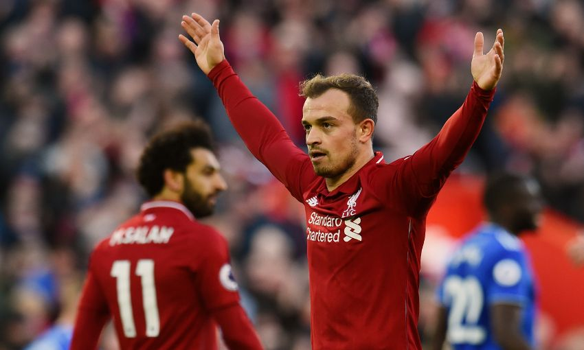 Reds Opt To Omit Shaqiri