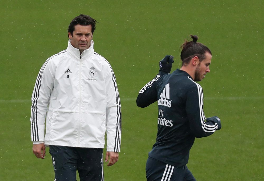 Solari Urges Bale To Enjoy Himself