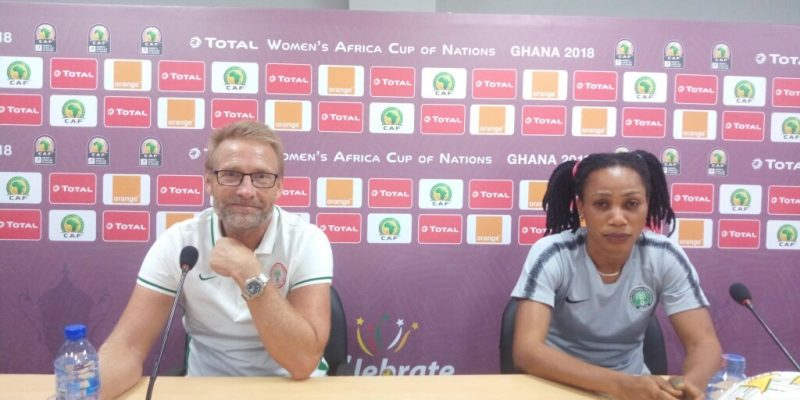 AWCON 2018: Dennerby Assures Falcons Will Confront Cameroon 'With All Seriousness'