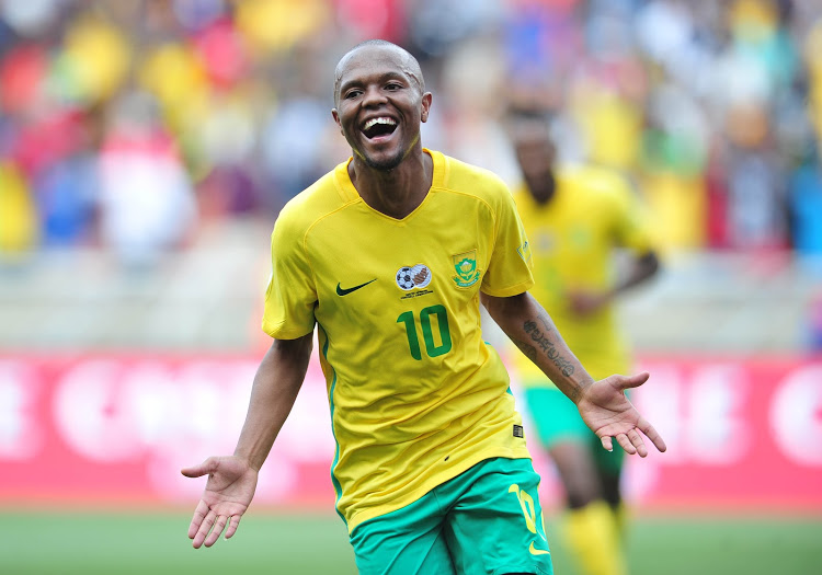 Bafana Get Boost As Serero, Mkhize Join Teammates In Training
