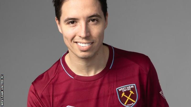 Nasri Joins West Ham United