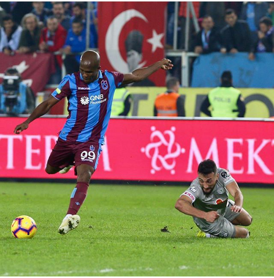 Nwakaeme Thrilled To Score 4th League Goal For Trabzonspor