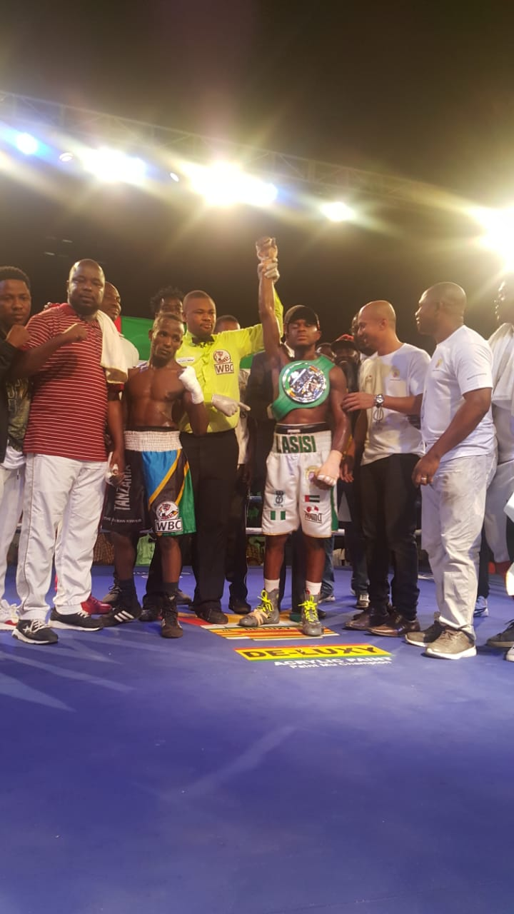 Lasisi Targets World Title After WBC Triumph In Ghana