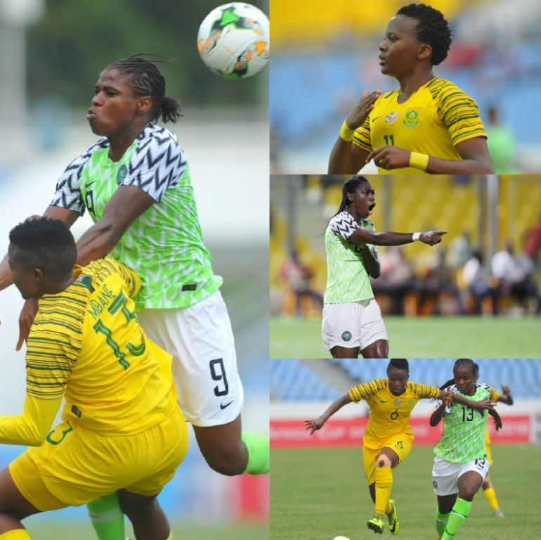 AWCON 2018: Super Falcons Face Banyana Banyana In Epic Final, Target Ninth Title