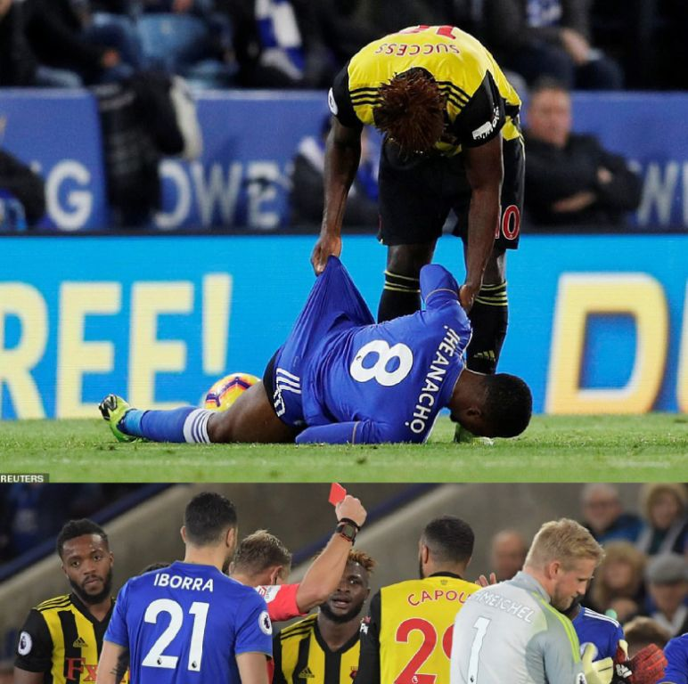 Success: I Spoke To Iheanacho, Capoue Red Card Unjustified
