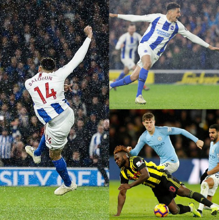 EPL Roundup: Balogun Scores In 3rd Sub Role For Brighton; Success Starts But Watford Lose To Man City