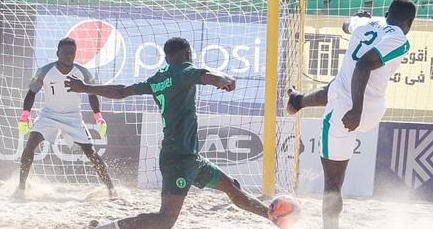 Beach Soccer AFCON 2018: Super Sand Eagles Lose To Senegal On Penalties