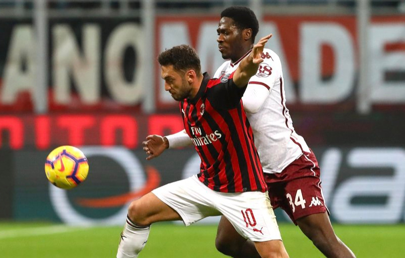Aina Relishes Torino Away Draw Vs Milan,  Grateful To Fans