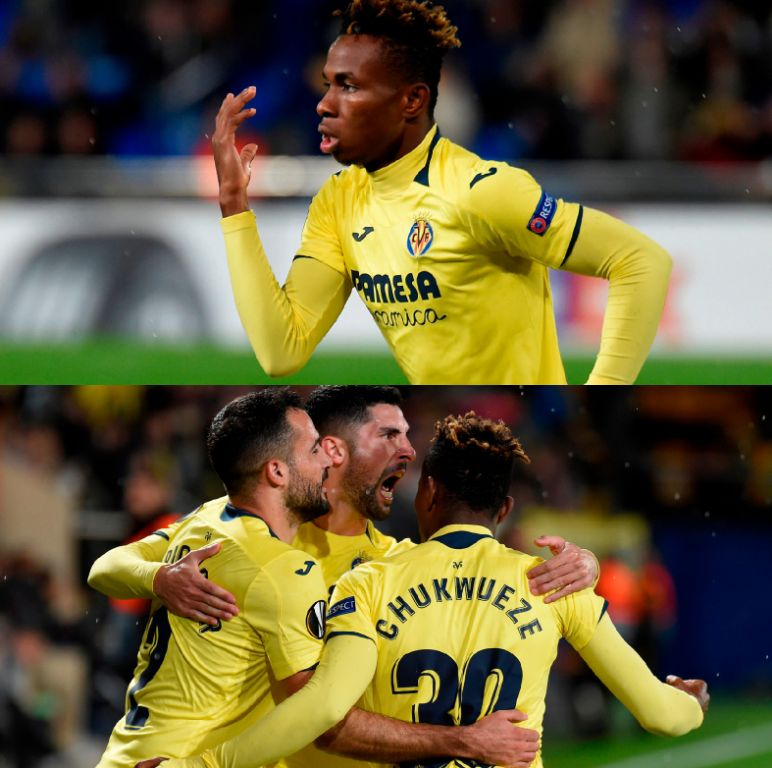 Europa League: Chukwueze Bags 1st Euro Goal As Villarreal Pip Spartak, Advance
