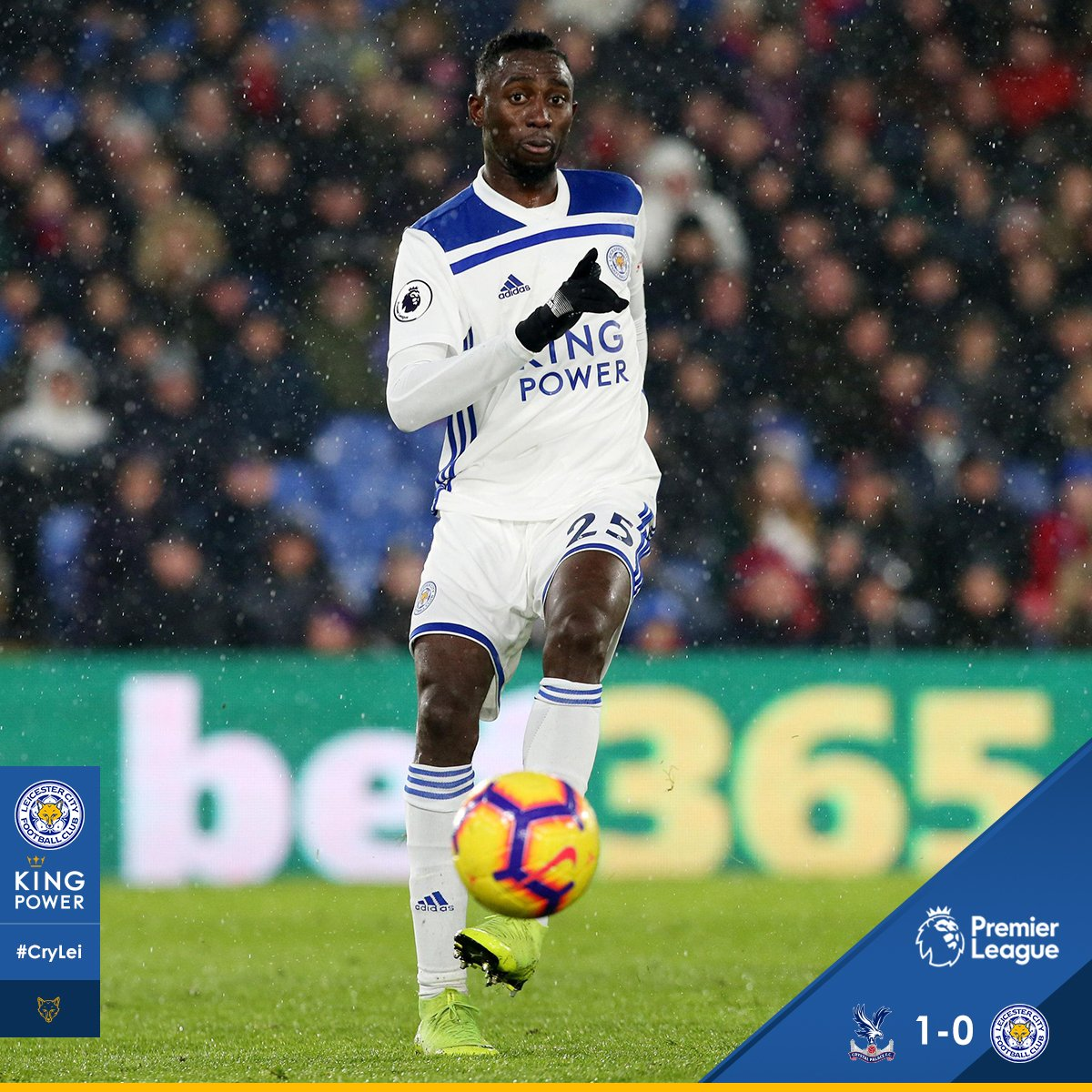EPL WRAP: Ndidi Makes 16th Start In Leicester's Loss; Iheanacho, Success Play As Sub