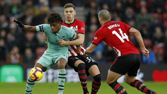 Iwobi Blames Lack Of Concentration For Arsenal's Defeat To Southampton