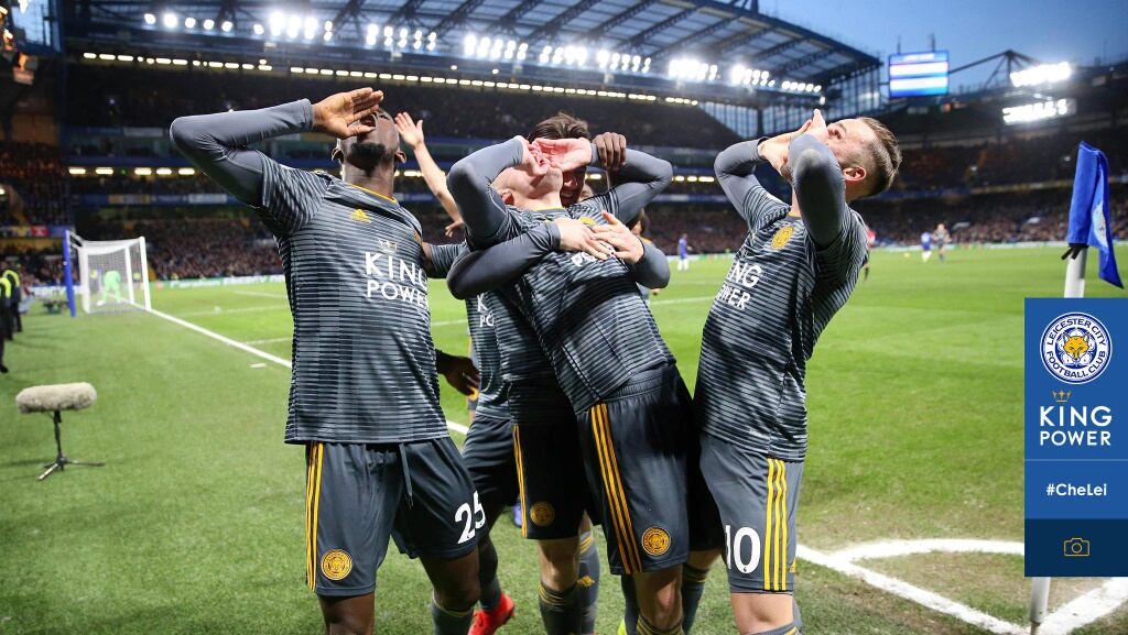 Ndidi Thumbs Up Leicester City's Massive Win Vs Chelsea