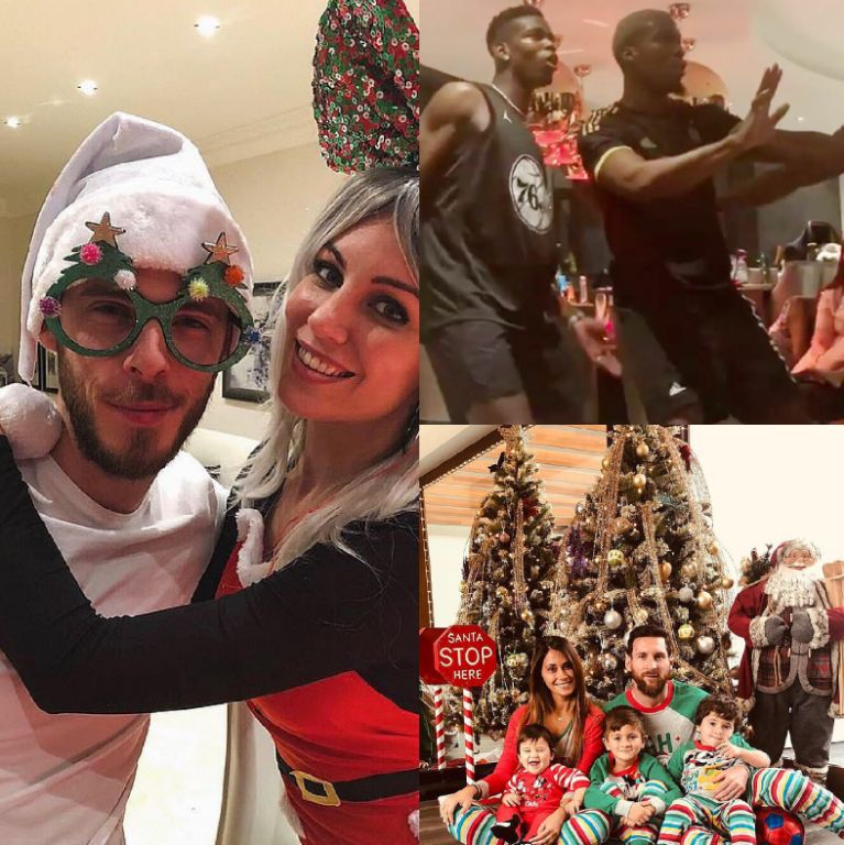 CHRISTMAS GROOVE!: More World Football Stars – Pogba, Messi, Modric, Aguero Others Shine