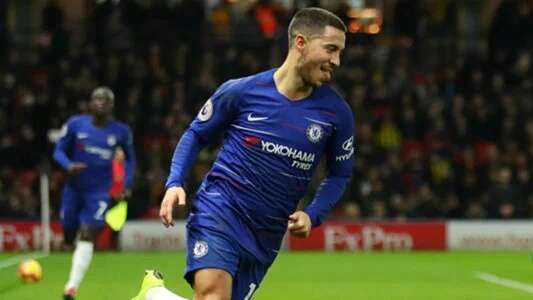 Hazard Bags Brace In Chelsea Away Win Vs Watford
