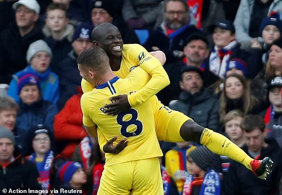 Kante Strikes As Chelsea Beat Palace 1-0