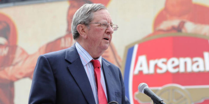 Former Arsenal Boss Hill-Wood dies at 82