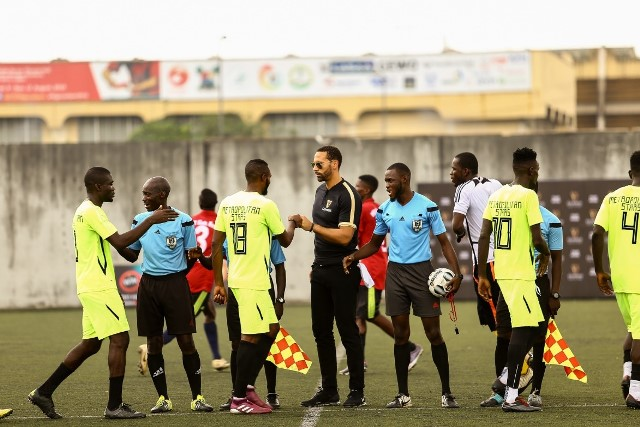 Rio Ferdinand Mentors Young Talents at National Stadium, Surulere