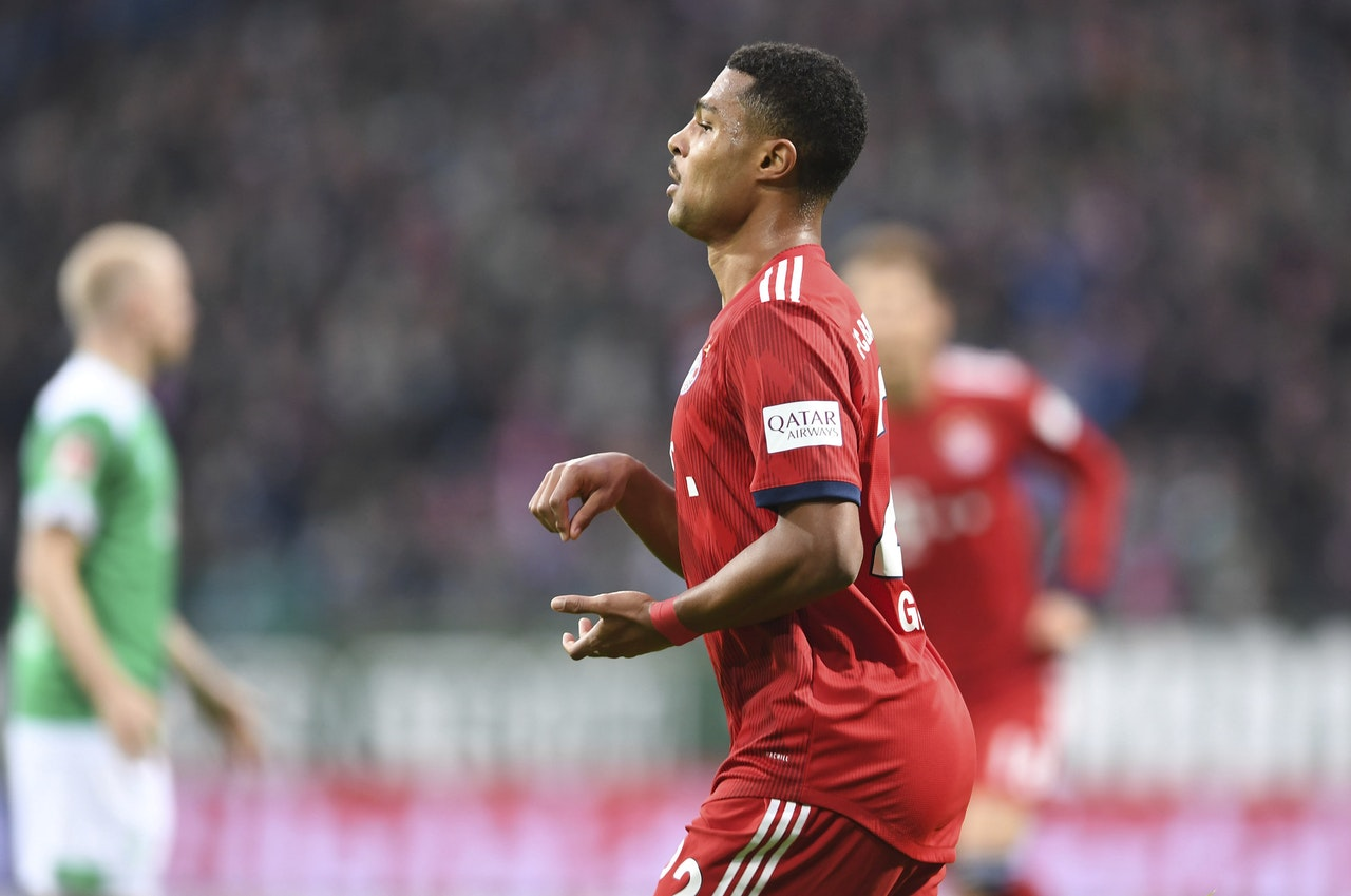 Bayern Handed Gnabry Blow
