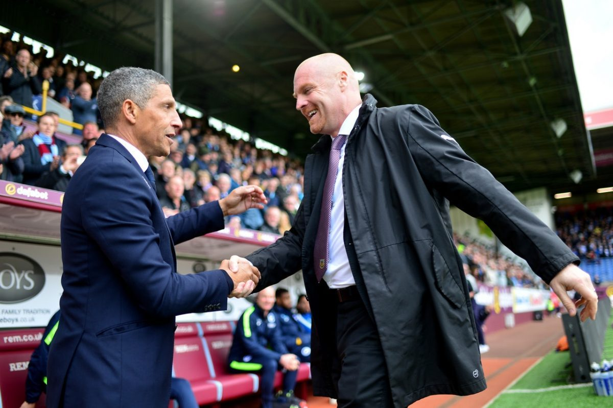 Dyche Admits Clarets Relief