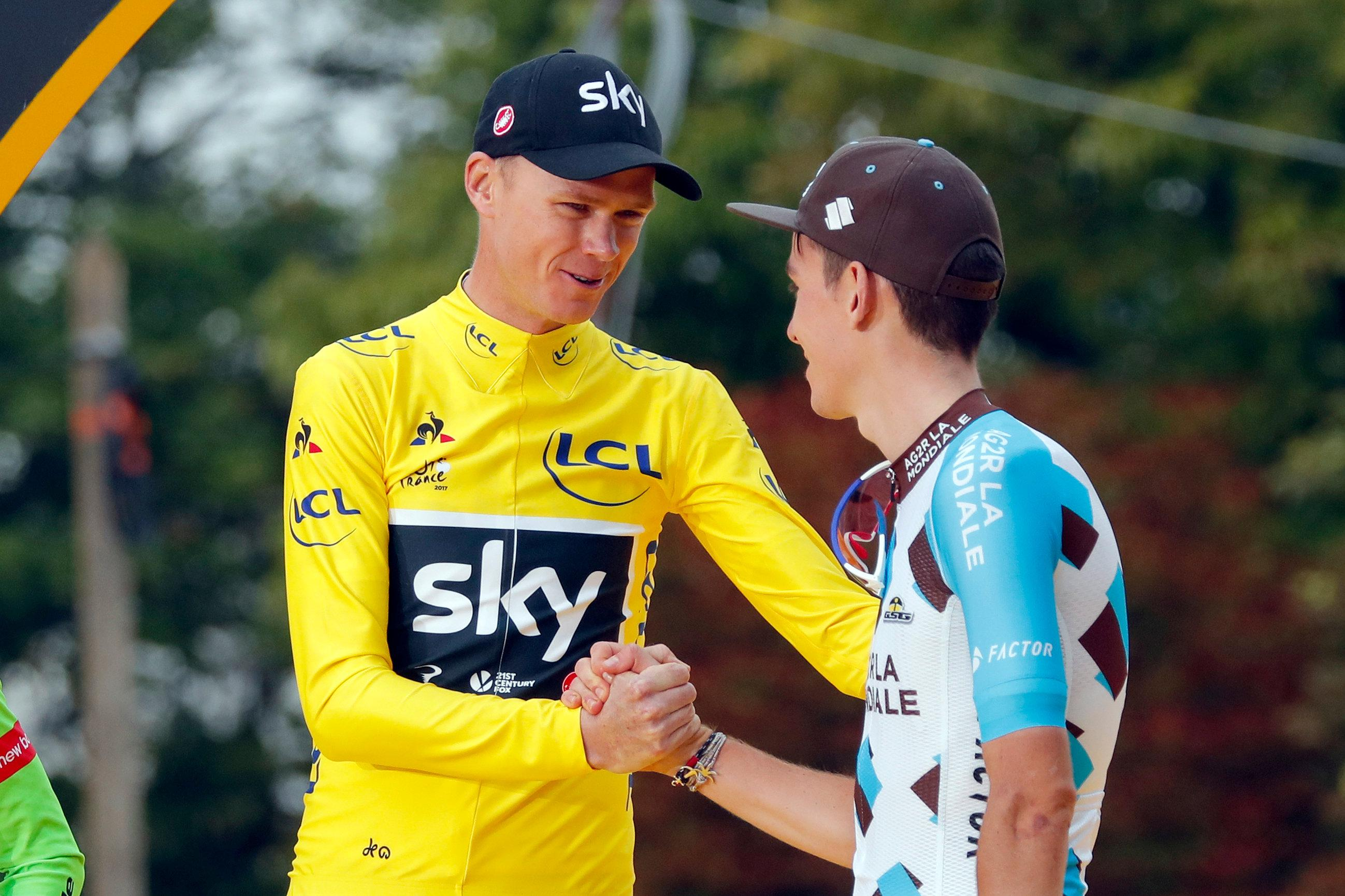 Froome Determined To See Team Sky Survive