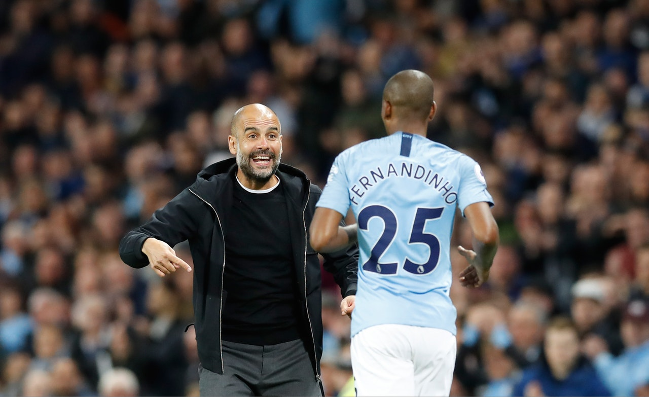 Guardiola Admits Reliance On Fernandinho