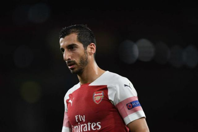 Mkhitaryan Ruled Out For Six Weeks to Miss Burnley Clash