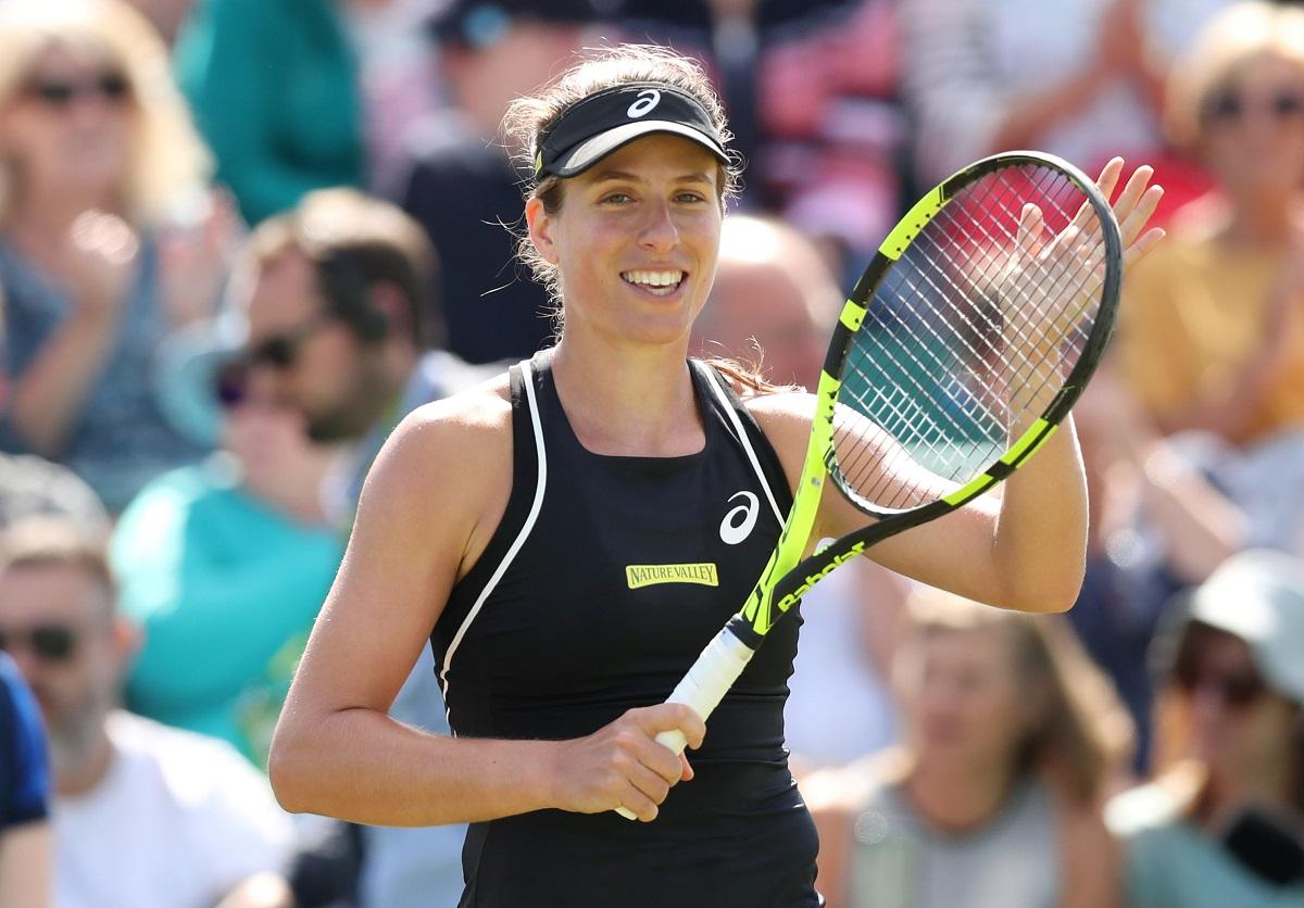 Konta Excited For Zavialoff