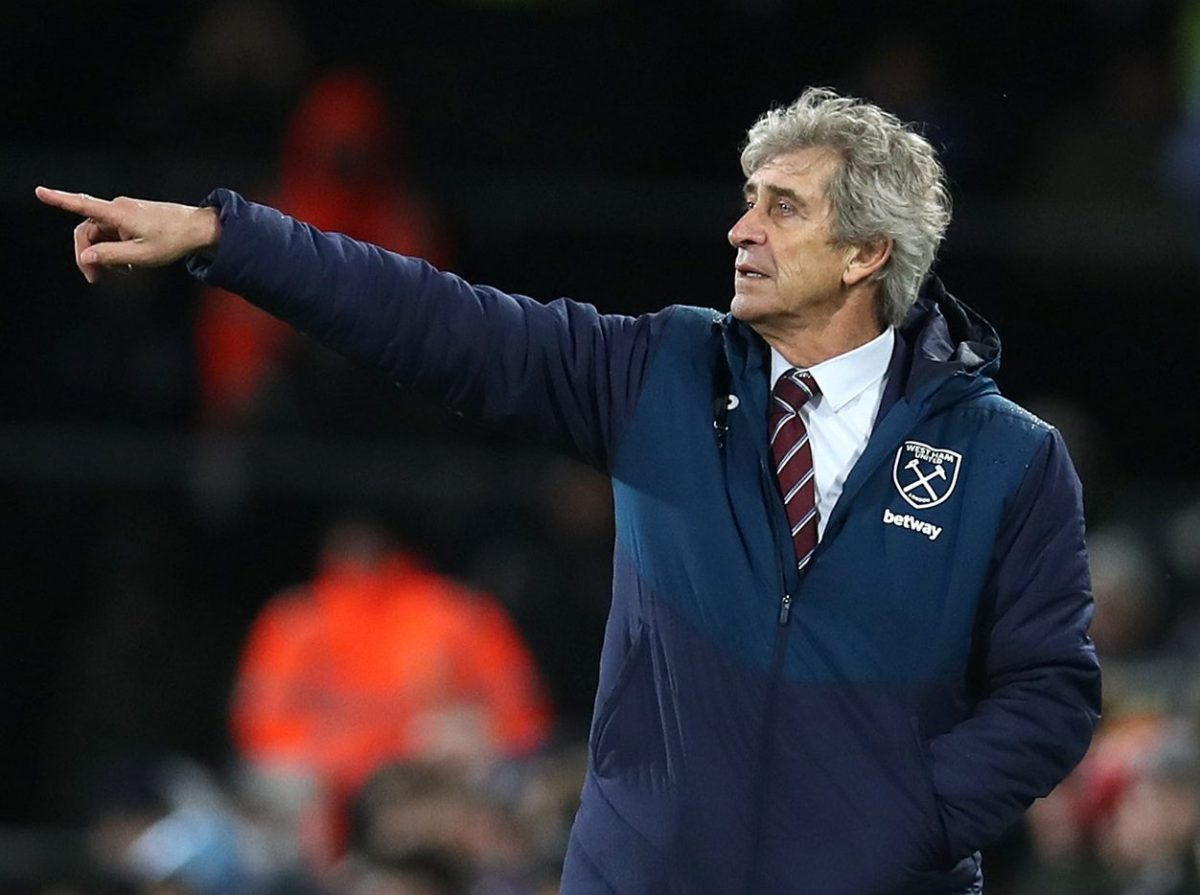 Manuel Pellegrini Is Confident West Ham Can Cope With Lengthy Injury List