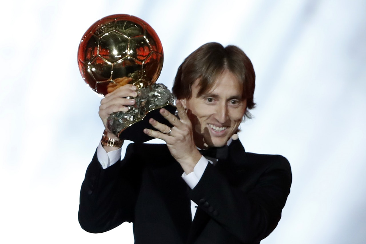 Modric Rejects Inter Talk