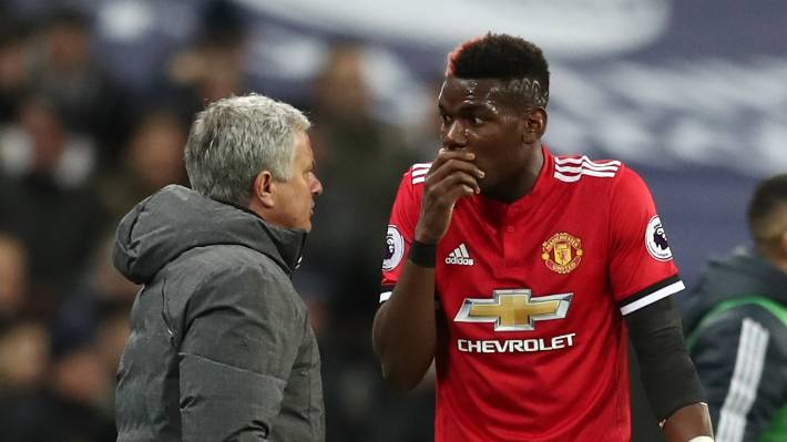 Pogba's Reaction To Mourinho Sack