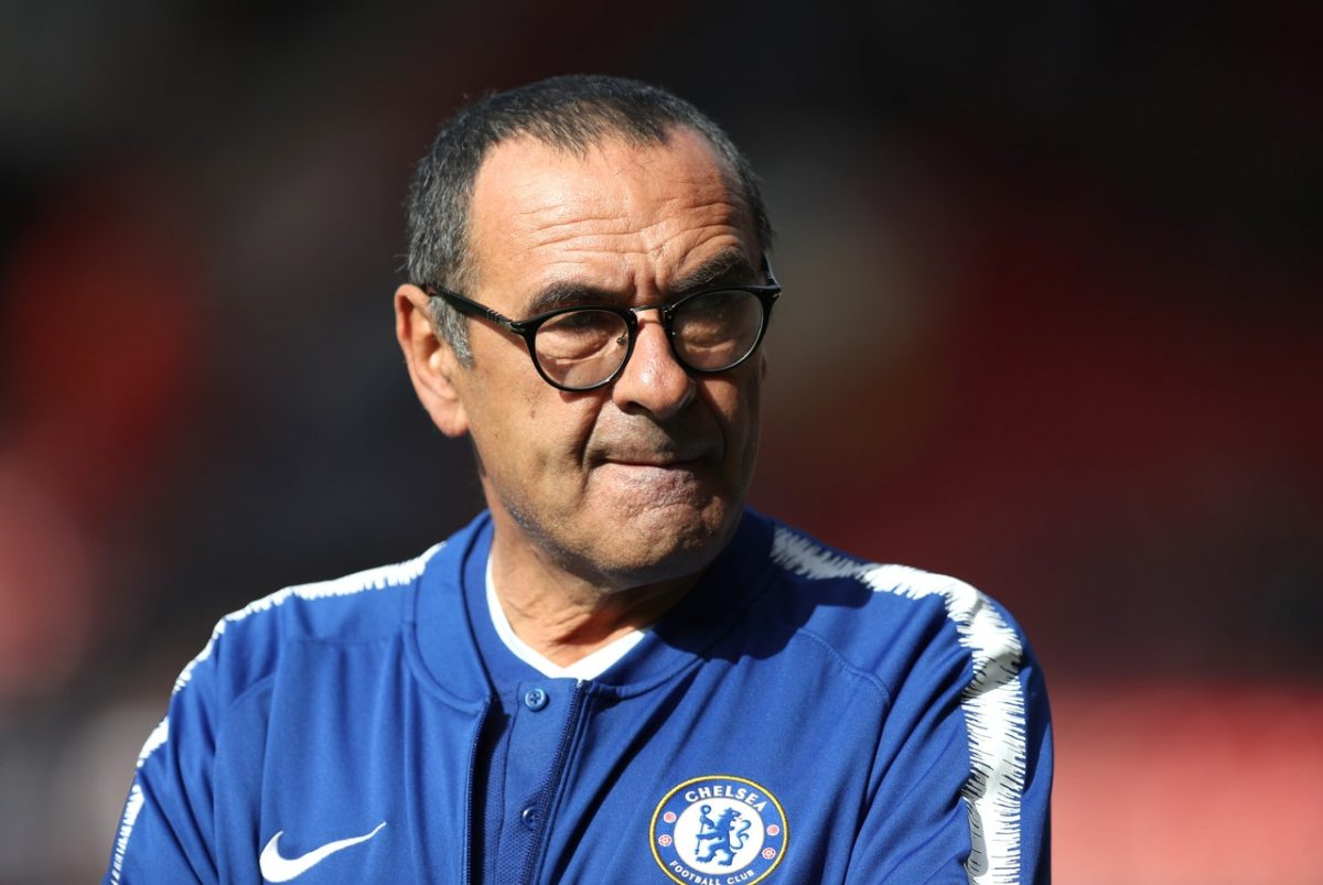 Sarri Rules Out Title Challenge