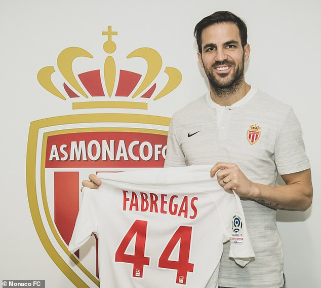 Fabregas Excited To Seal Three And Half Year Monaco Deal
