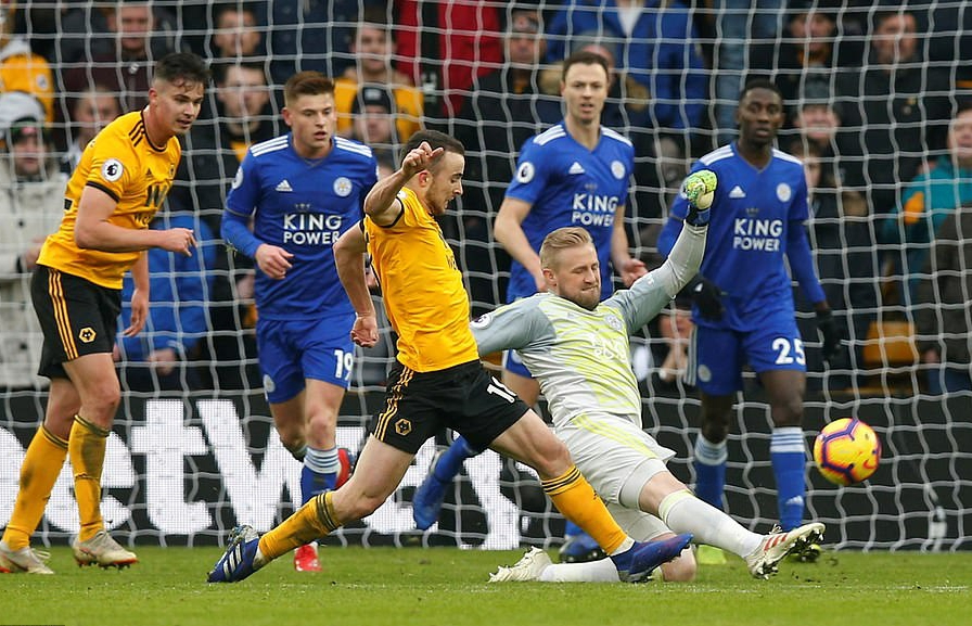 EPL: Ndidi, Iheanacho In Action As  Leicester Lose in 7-Goal Thriller At Wolves