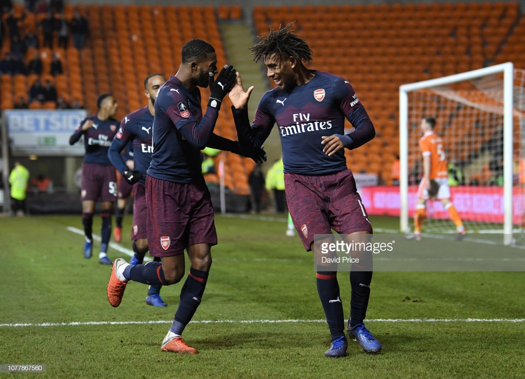 Iwobi Scores First FA Cup Goal; Moses Benched In Chelsea Win