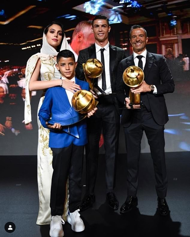 Ronaldo Wins Player of the Year at the Globe Soccer Awards