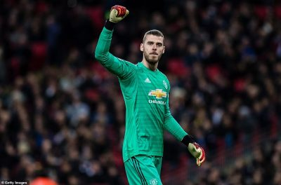 De Gea Confident Man United Will Finish In Top Four