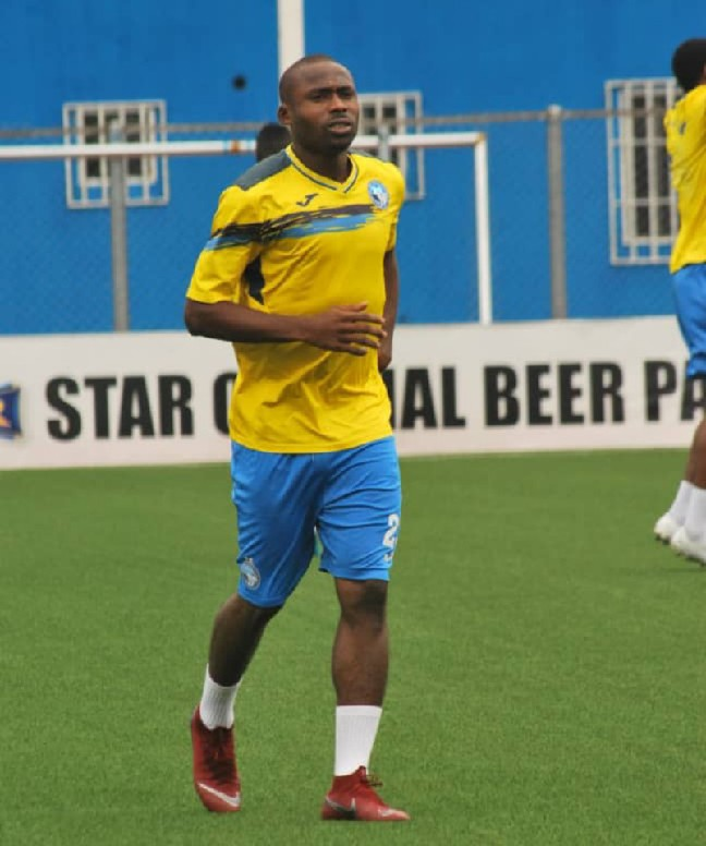 New Signing, Okorom: I'm  Ready To Fight For Enyimba Right-Back Shirt